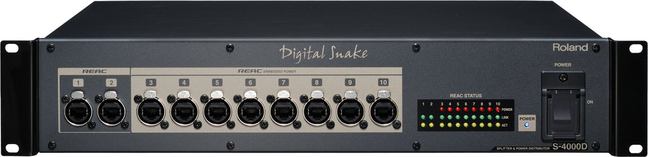 Personal Mixing for 5 (Add-On): 5x M-48 Mixers, 1x S-4000D Splitter/Power Distributor