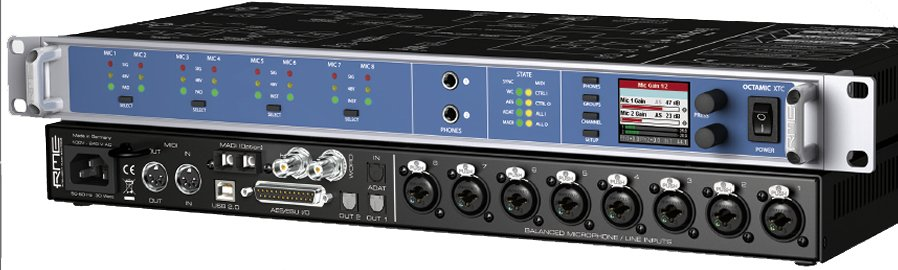 8-Channel Mic/Line Preamp
