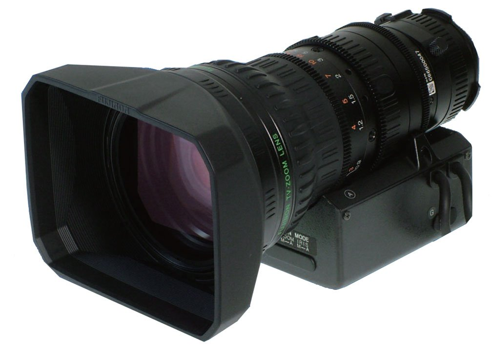 Fujinon 17X Zoom Lens, 4.5-77mm