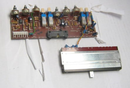 Master PCB for Soundcraft Mixer