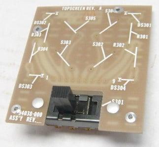 Telex Control Deck PCB