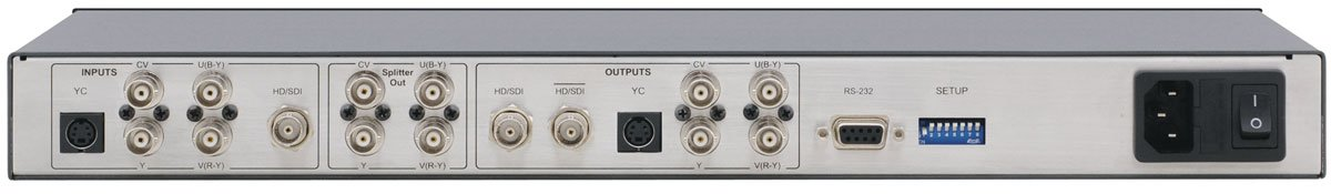 Multi-Format Analog and HD-SDI Video Processor