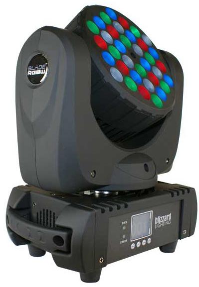 36x5W RGBW Moving Head Wash