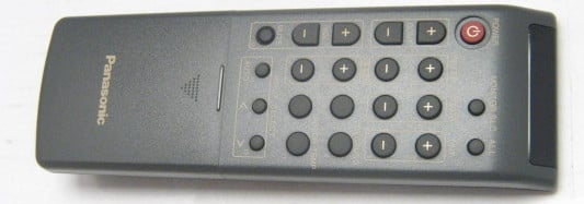 Panasonic Computer Monitor Remote