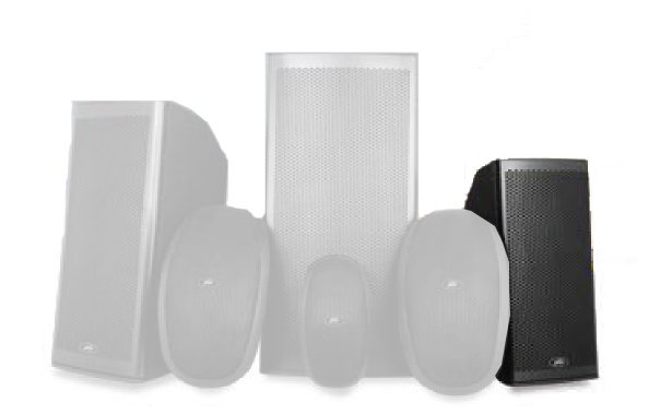 "8"" Elements Series 2-Way Molded Enclosure Outdoor Speaker"