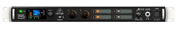 40-Input Rackmount Digital Mixer