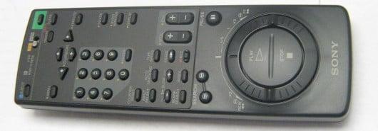 Sony VCR Remote Control