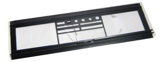 Dennon Dual Cassette Recorder Front Panel