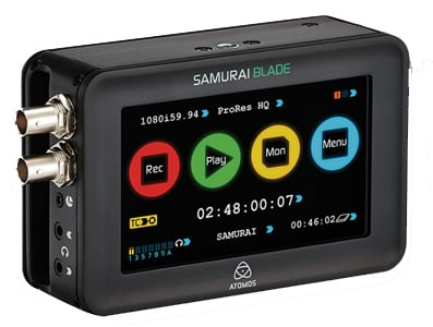 Camera Mounted Recorder Monitor