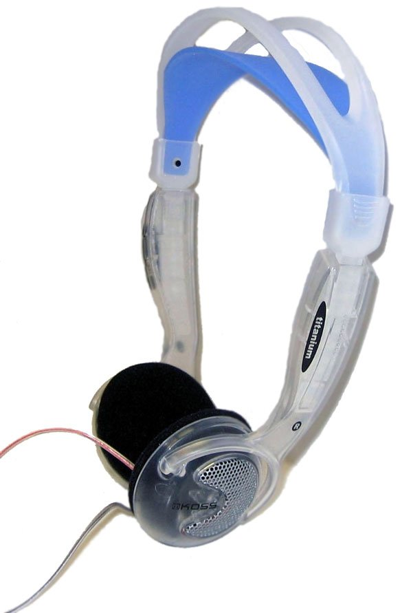 Clear Stereo Headphones with Volume Control