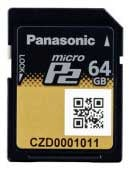 64GB microP2 Memory Card