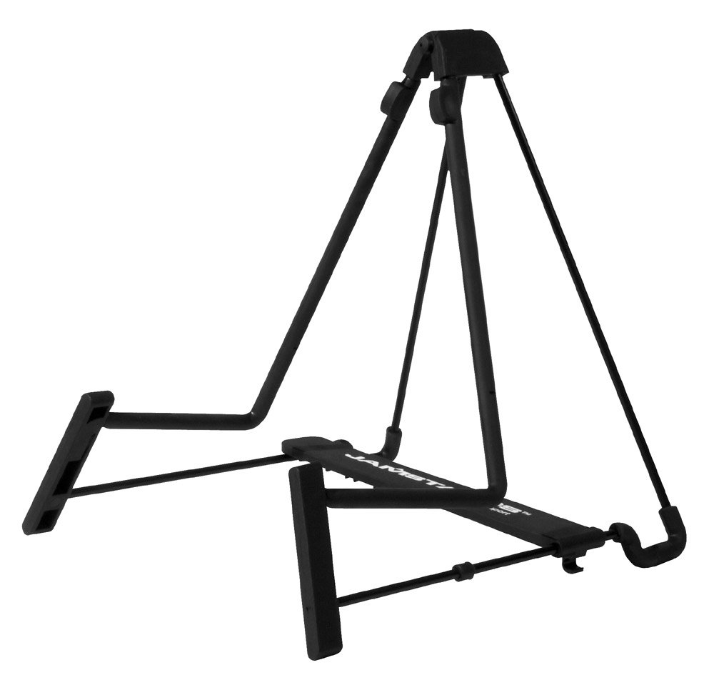 A-Frame Wire Guitar Stand with Five Width Positions for Acoustic or Electric