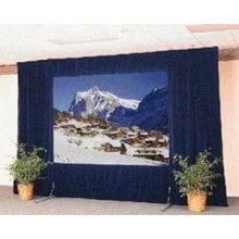 FastFold Deluxe® Drapery Presentation Kit, for 8' x 14' Projection Screen, UltraVelour