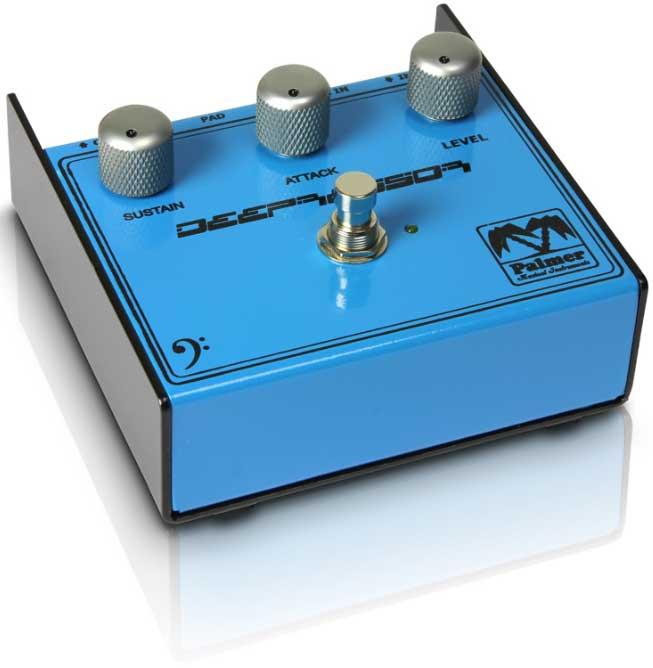palmer pebdp deepressor compressor effect pedal for bass guitars full compass systems. Black Bedroom Furniture Sets. Home Design Ideas