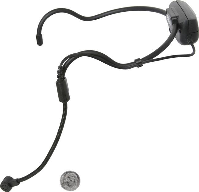 Wireless Headworn UHF Microphone System