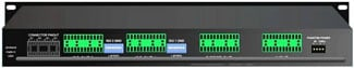 8-channel Rack Mount Splitter, 1 Direct / 2 Isolated Outputs