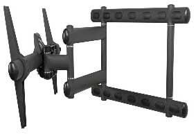 Swing-Out Mount For Flat Panel Screens, 300 lb Weight Cap.