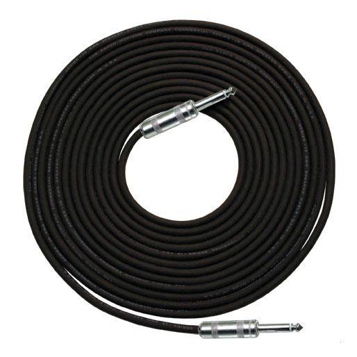 14 Gauge R Speaker Cable In Black 14 Connectors 50ft By Rapco