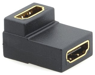 HDMI (F) to HDMI (F) Right-Angle Gender Changer