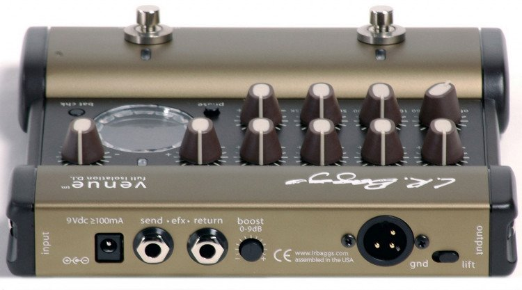 Acoustic Direct Box / Preamp / Pedal with 5-Band EQ