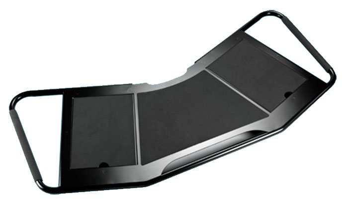 Accessory Shelf for Pro Mobile Cart in Black