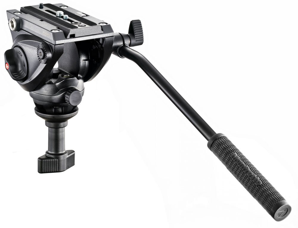 Lightweight Pro Fluid Video Head with 60mm Half Ball