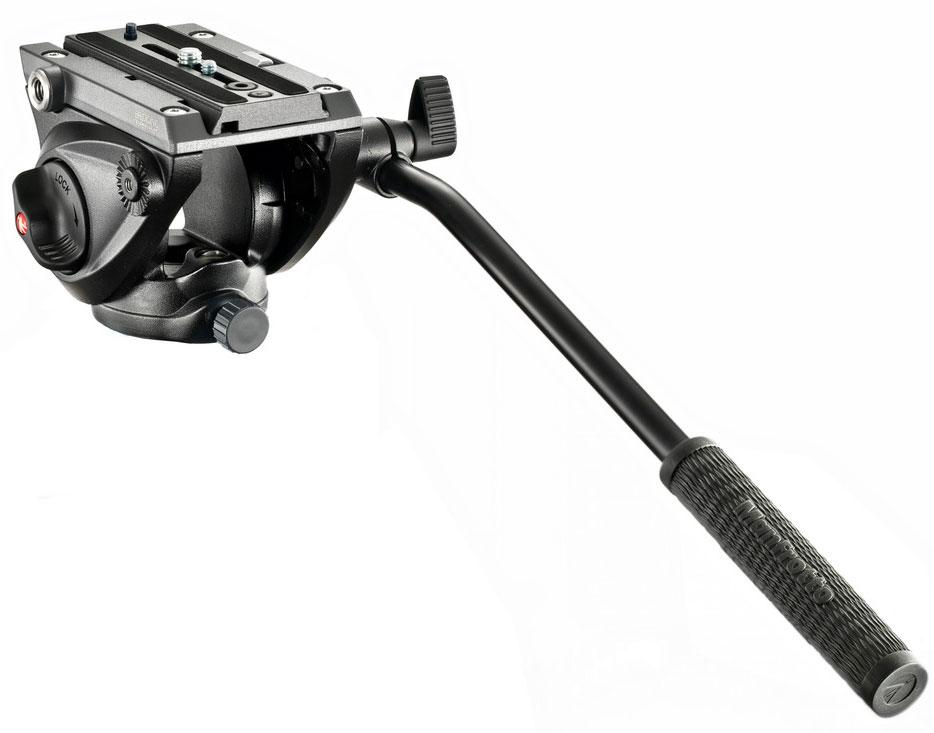 Lightweight Pro Fluid Video Head with Flat Base
