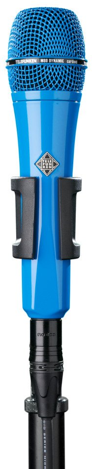 Dynamic Handheld Cardioid Microphone in Blue