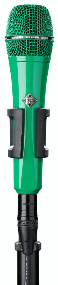 Dynamic Handheld Cardioid Microphone in Green
