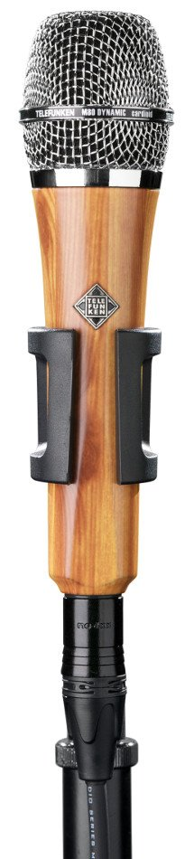 Dynamic Cardioid Microphone in Oak Finish