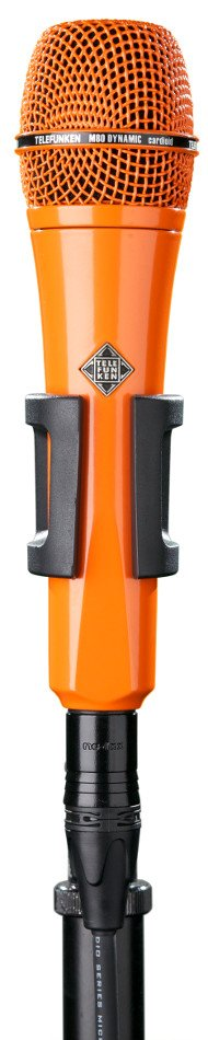 Dynamic Handheld Cardioid Microphone in Orange