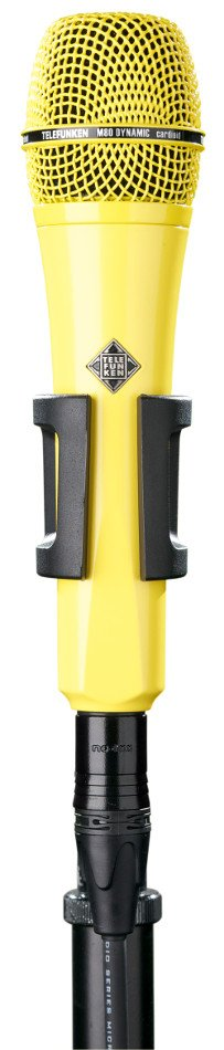 Dynamic Hanheld Cardioid Microphone in Yellow