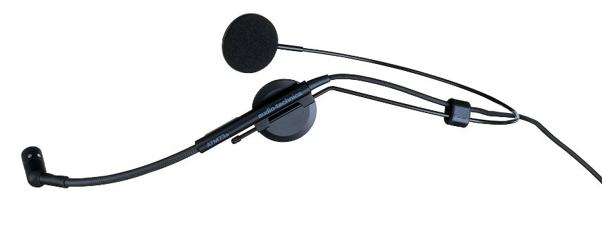 Audio-Technica ATM73A Cardioid Condenser Headworn Microphone ATM73A