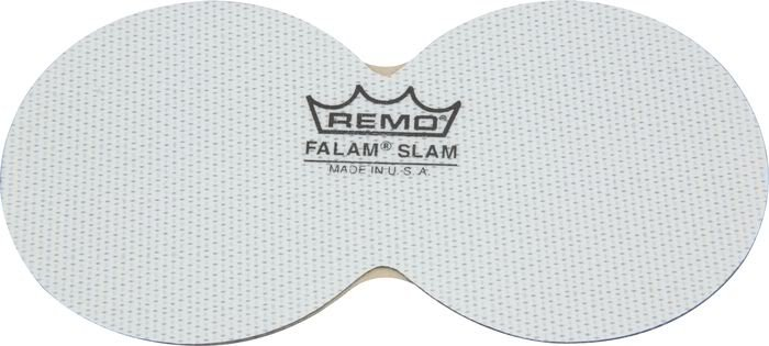 "2.5"" Double Kick Falam Slam Bass Drum Patch/Drumhead Protector"