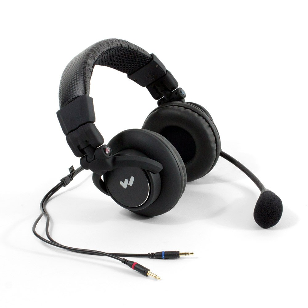 Dual Muff Headset for the DLT 100 Transceiver