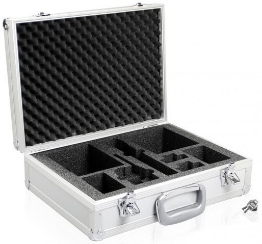 Transport Case for 1x Synexis TH/TP Transmitter, 2x Synexis RP Pocket Receivers & Accessories