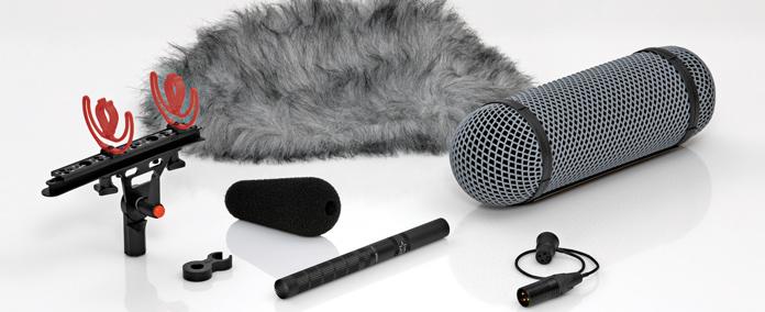 DPA Microphones 4017B-R  Shotgun Microphone with Preamp & Rycote® Windshield 4017B-R