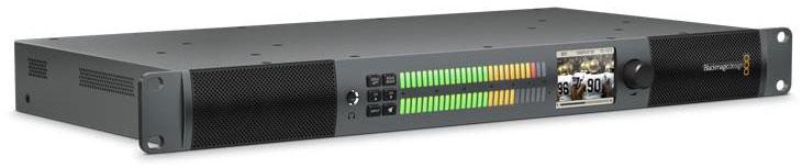 Rackmount Audio Monitoring from SDI, AES/EBU and Analog Audio