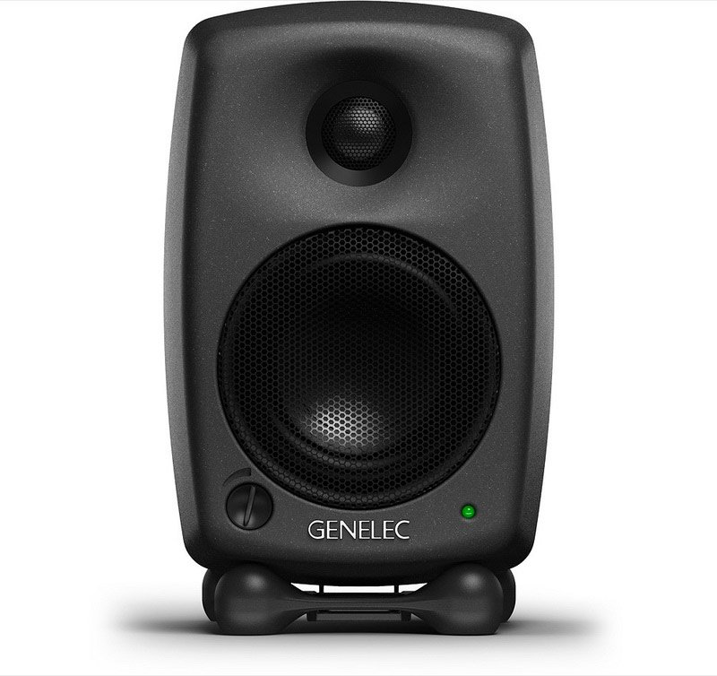 Two Way Active Powered Studio Monitor in Black