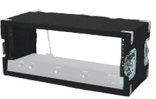 8RU Wireless Rack with Recessed Hardware