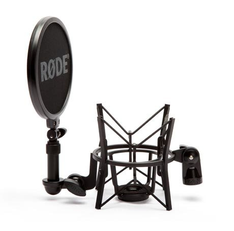 Shockmount with Pop Shield