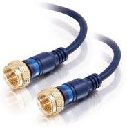 1.5 ft. Velocity Mini-Coax F-Type Cable