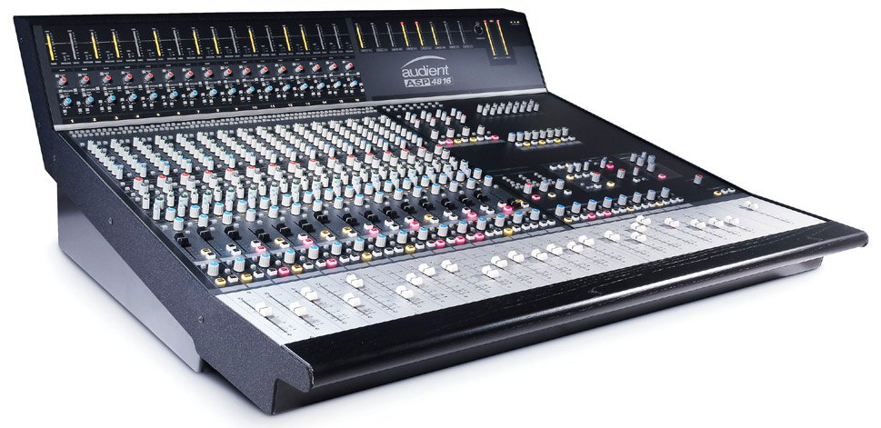 48 Input Compact Analog Recording Console with 40 Faders