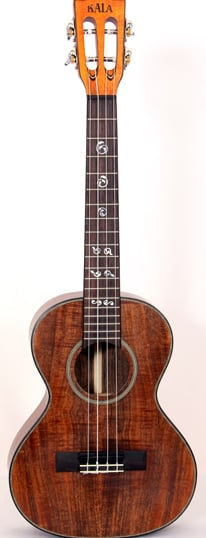 Solid Acacia Series Tenor Ukulele with Slotted Headstock