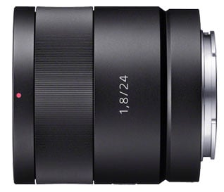 24mm f/1.8 Wide-Angle Prime Lens