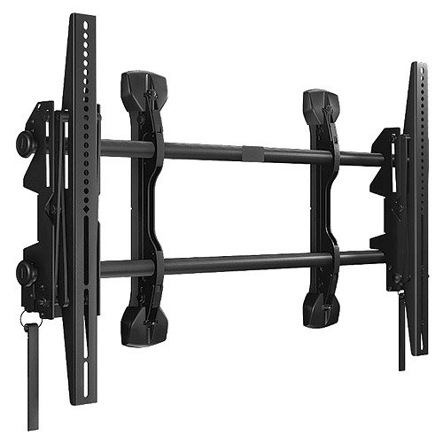 Large FUSION Micro-Adjustable Pull-Out Mount for Video Walls
