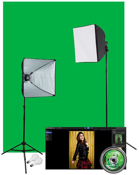 uLite Green Screen Photo Kit