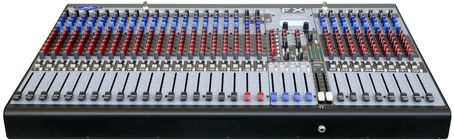 32Ch Mixer with DSP and USB Interface