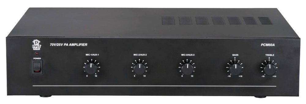 100 Watt Power Amplifier with 25 & 70 Volt Output