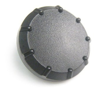 Shure Wireless Receiver Frequency Knob